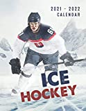 Ice Hockey Calendar 2021-2022: Great 18-month Grid Calendar 2022 from Jan 2021 to Jun 2022 for all fans!!!