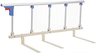 2ピースベッドレール安全サイドガードレール、シニア/子供/大人の折りたたみ式ステンレス鋼バンパーメタルフェンス、障害者用