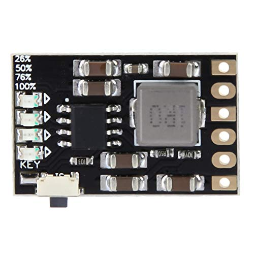 Controlador de carga de 5V 2A, placa del módulo del cargador de batería de litio, placa de protección de descarga del cargador para batería de iones de litio de 3.7V 4.2V