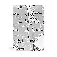 ブックカバー 文庫 a5 本 カバー 革 レザー 手描き カフェ タオル 本 英文柄 グラス 簡潔 おしゃれ かわいい 文庫本カバー ファイル 資料 収納入れ オフィス用品 読書 雑貨 プレゼント
