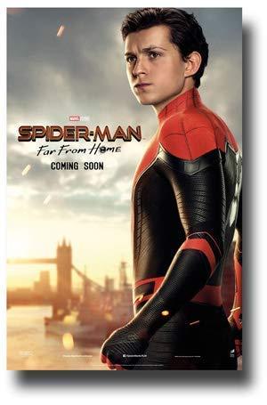 Filmposter, Motiv: Spider-Man, Far from Home, 28 x 43 cm, Geschenk, dekorativer Druck
