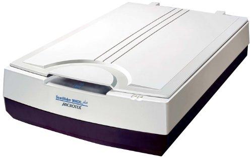 Microtek ScanMaker 9800XL Plus Silver - Escáner Plano (1600 x 3200 dpi, USB 2.0), Color Beige (Importado)