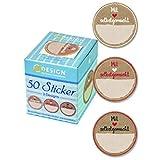 AVERY Zweckform Etiketten Marmelade 50 Stück Art. 56818 (Aufkleber, ablösbare Papiersticker 38 mm...