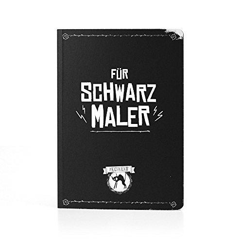 """Pechkeks Notizheft """"Für Schwarzmaler"""""""