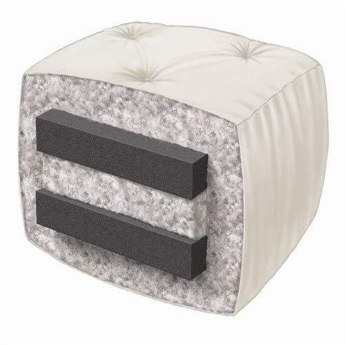 Serta Chestnut Double Sided Foam and Cotton Futon Mattress