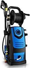 Naabet 3800 PSI 2.8GPM Electric Pressure Washer Electric Power Washer with Soap Bottle and Hose Reel, 2-Year Warranty(Blue)