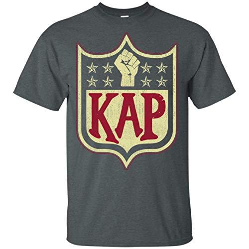 Colin Kap Mens I'm with Kap Take A Knee Trending Cotton Soft T Shirt,Shirts/Dark Heather,Small