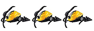 Wagner 0282014 Heavy Duty multi-purpose household 915 on-demand Steam Cleaner, 120 Volts, Black/Yellow