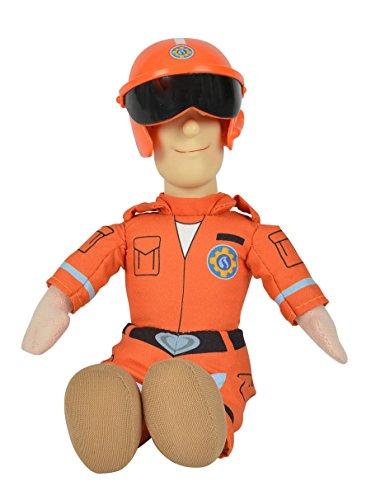Simba Feuerwehrmann Sam 25 cm Sam Rescue Plüschfigur mit Vinylkopf Spielzeug