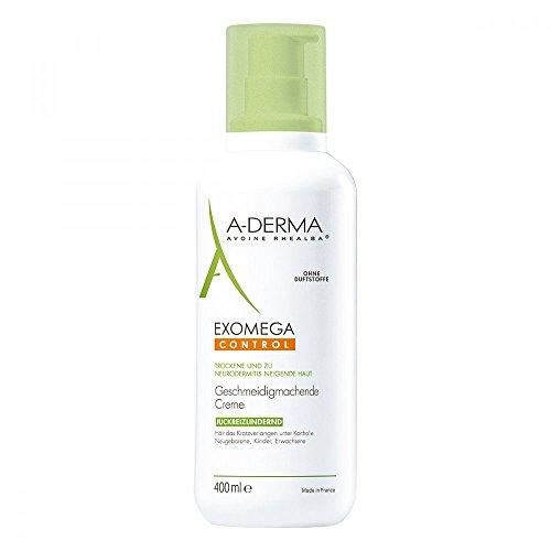 A-DERMA EXOMEGA CONTROL geschmeidig machende Creme 400 ml