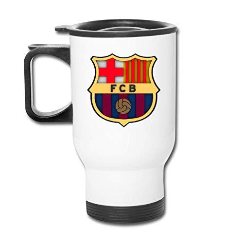 Botella térmica de acero inoxidable con aislamiento al vacío Dream League Fc Barcelona Logo Taza de coche esmerilada de moda para bebidas calientes/frías, café o té