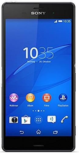 Sony Xperia Z3 Smartphone (13,2 cm (5,2 Zoll) Full-HD-TRILUMINOS-Bildschirm, 2,5 GHz-Quad-Core-Prozessor, 20,7 Megapixel-Kamera, Android 4.4) schwarz [T-Mobile Branding]
