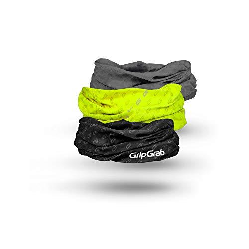 GripGrab Fahrrad Multifunktionstuch Geschenkbox-3er Set Gesichtsmaske Mundschutz Halstuch Merino-Wolle für Sport und Alltag Radsport