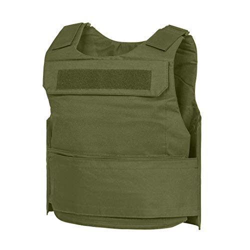 WarTechGears Discreet Vest MED-2XL 10'X12' Fully Adjustable Law Enforcement (Green)