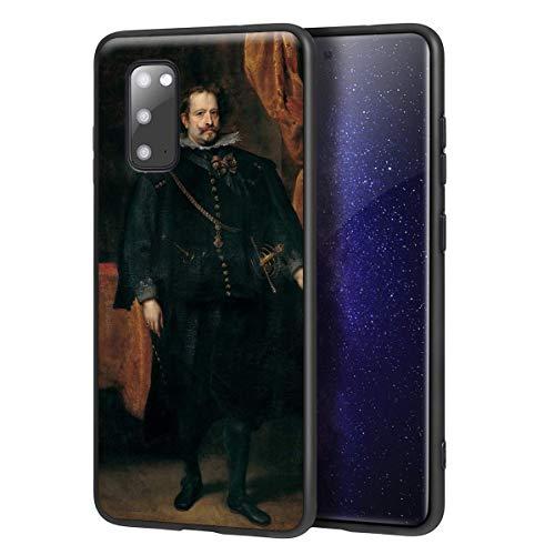 Berkin Arts Anthony Van Dyck para Samsung Galaxy S20 Carcasa/del teléfono Celular de Arte del teléfono Celular de Arte/Impresión Giclee en la Cubierta del móvil(Diego De Mexía Marquess of Leganes)