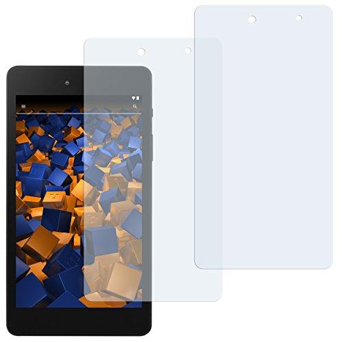 mumbi Schutzfolie kompatibel mit Medion E6912 E-Tab Folie klar, Bildschirmschutzfolie (2X)