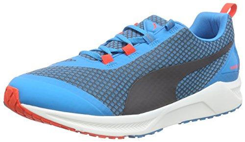 Puma Ignite XT Core - Zapatillas de Running de Material Sintético para Hombre Azul Blau (Blue Heaven-Blue Wing Teal-Orange Pop-White 03) 44