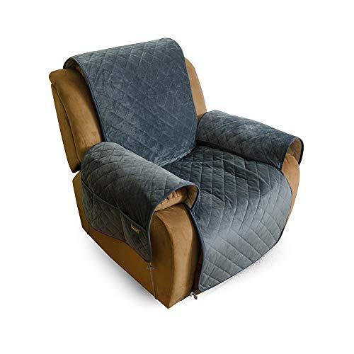 MARKSIGN Super Soft Velvet Sofa Cover, 100% Waterproof Fabrics with TPU...