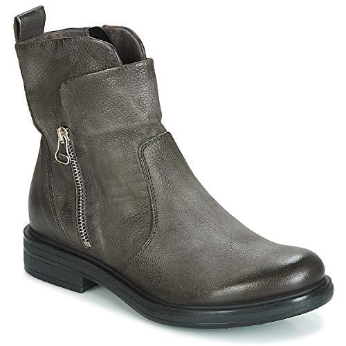 Mjus Cafe Stiefelletten/Boots Femmes Grau - 40 - Boots