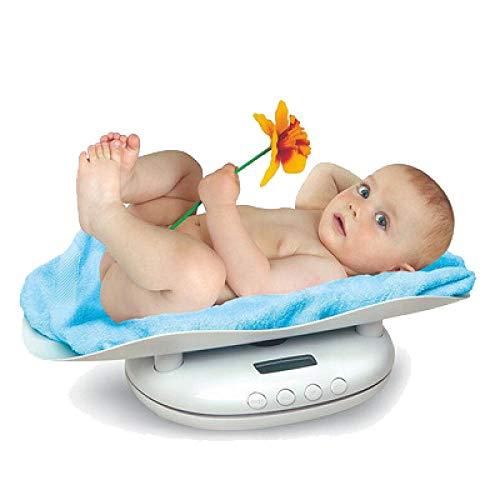 FDSHOSFH Baby weegschaal elektronische baby weegschalen, multifunctionele huisdier weegschalen, kan worden gebruikt voor 1-10 jaar oude baby's, kleine huisdieren, huisdier baby's, keuken bakken