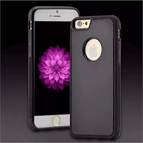 Adecuado para iPhone 6 6S Plus y iPhone 7 8 Plus SE2020 Estuche para teléfono móvil antigravedad Pluto, nanotecnología mágica y autoabsorbente, estuche antigravedad para teléfono manos libres
