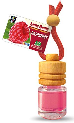 5 Stück elegante Duftflakons fürs Auto und Zuhause - Raspberry - Himbeere