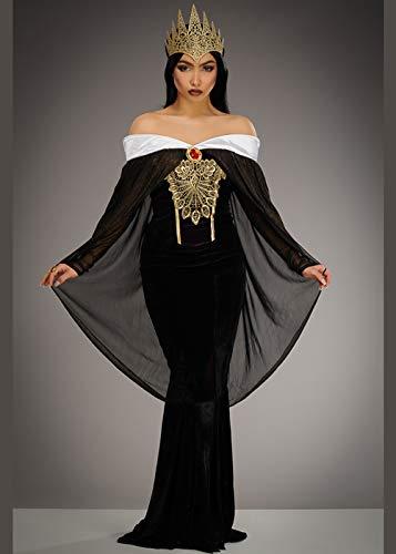 Magic Box Disfraz de Reina Malvada Estilo Blanco Nieve de Mujer S (UK 8-10)