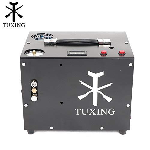 TXET062-2 4500Psi Compresor Portátil de 12V Pcp Compresor de Aire para Pcp Tanque de Aire de Llenado de Auto-stop versión