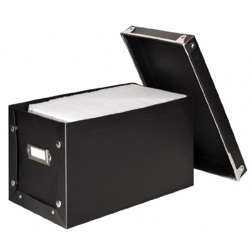 Hama Media Box 140 - Estantería para CDs (140 Discos), negro