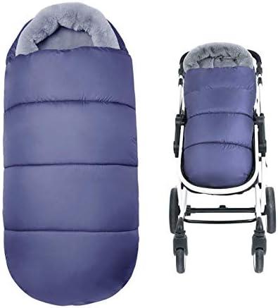 AtBabyHome Stroller Footmuff Warm Baby Bunting Bag Universal Stroller Sleeping Bag with Adjustable product image