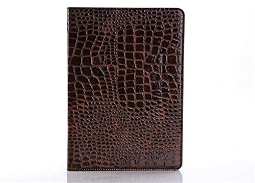 SUNMINGY Stand Crocodile Grain Flip Leather Case Cover For Ipad Tablet Fundas Cases For Ipad 4 Ipad 3 Ipad 2-Brown