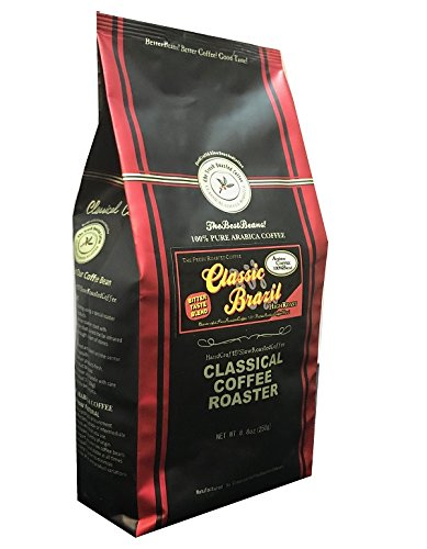 コーヒー豆 クラシカルコーヒーロースター 100% アラビカ 豆 クラシックブラジル 250g (8.8oz) 中粗挽