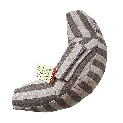 KiraKira gordelkussen voor kinderen, auto slaapkussen, reis-nekkussen, nekkussen, autostoel hoofdkussen riem Pillow schouderbescherming, machinewasbaar, super zacht bruin