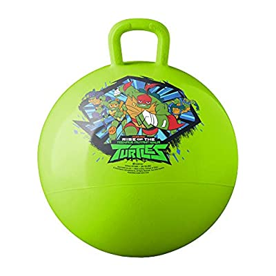 Hedstrom Teenage Mutant Ninja Turtles Hopper Ball, Hop Ball for Kids, 15 Inch