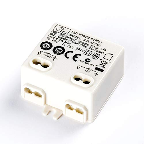 Mini LED Driver VIG 8W 350mA 6-24V K02-6C350 Power Supply Treiber