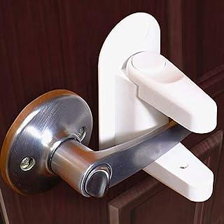2 Pack Child Proof Door Handle Lever Lock Guards Set