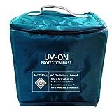krisha UV-ON Care | Large UV Disinfection, Sanitizer Box/Bag | Sanitize,Gloves,Phones,Cash,Groceries,Bottles in mins | UV Steriliser for Home & Hospital | Kills 99.9% Bacteria & Viruses in mins