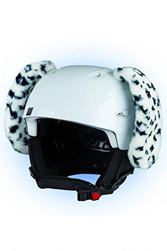 Crazy Ears Helm-Accessoires Hase Hund Ohren Ski-Ohren Tierohren, CrazyEars:Dalmatiner Ohren