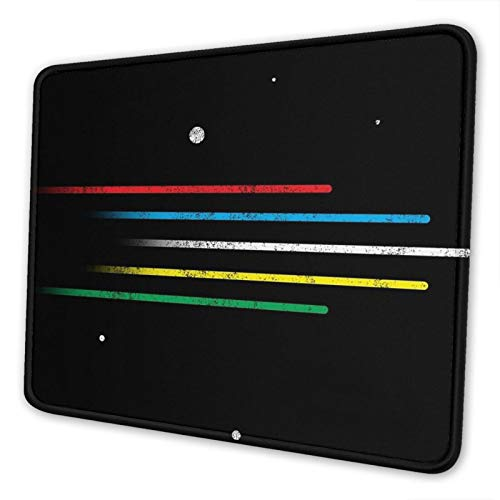 Let's Go Voltron Force! Non-Slip Mousepad Gaming Computer Mouse Pad Gaming Desktop Laptop Mouse Pad with Stitched Edge 10x12 in