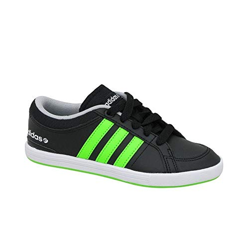 adidas - Bbneo Skool Lo K - F38713 - Colore: Nero-Verde - Taglia: 30 EU