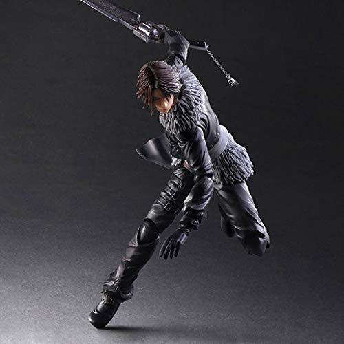 MMZ Final Fantasy VII Altura - Squall Leonhart Atcion Figura Figura Colección de PA Kai - equipados con Armas y reemplazables Manos 11