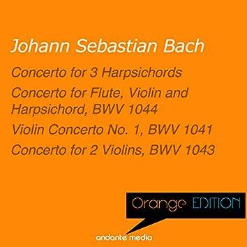 Orange Edition - Bach: Concerto for Flute, Violin and Harpsichord, BWV 1044 & Concerto for 2 Violins, BWV 1043