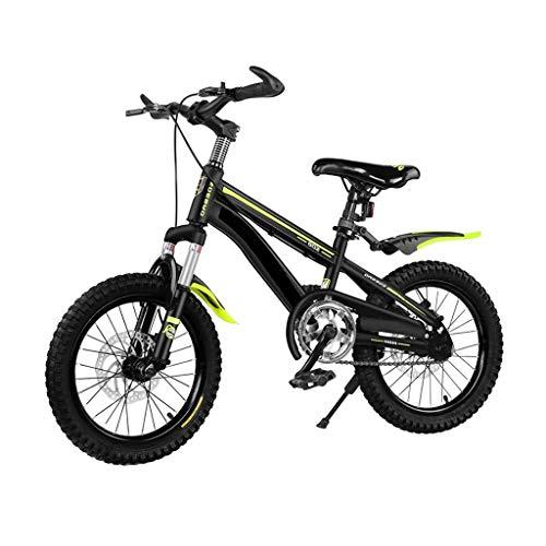 OFFA Bike Bicicleta 12 14 16 18 20 Pulgadas Niños Bici De Montaña, Niños Niñas Adolescentes 5-6-7-8-9-12 Años Crucero Bicicleta, De Doble Freno De Disco, Bicicletas Aire Libre Camino Deporte
