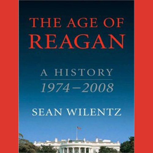 The Age of Reagan audiobook cover art