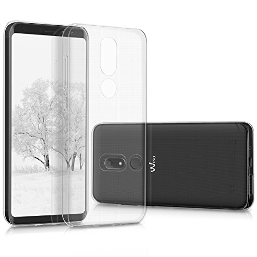 kwmobile Wiko View Prime Hülle - Handyhülle für Wiko View Prime - Handy Case in Transparent