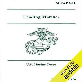 Leading Marines audiobook cover art