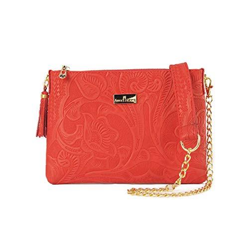 bolsa roja para dama fabricante AngeLozano