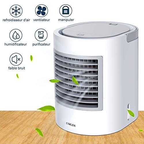 Mobiele airconditioner, mobiele airconditioning, kleine airconditioning, draagbare koeler, snelle en eenvoudige mogelijkheid voor koeling van de persoonlijke ruimte, geschikt voor bed, kantoor en werkkamer.