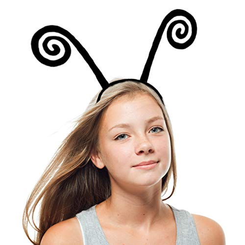 Black Butterfly Antenna-Headband for Kids Girls Boys Halloween Dress Up Costume