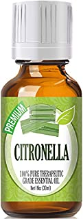 Citronella (30ml) 100% Pure, Best Therapeutic Grade Essential Oil - 30ml / 1 Fl Oz
